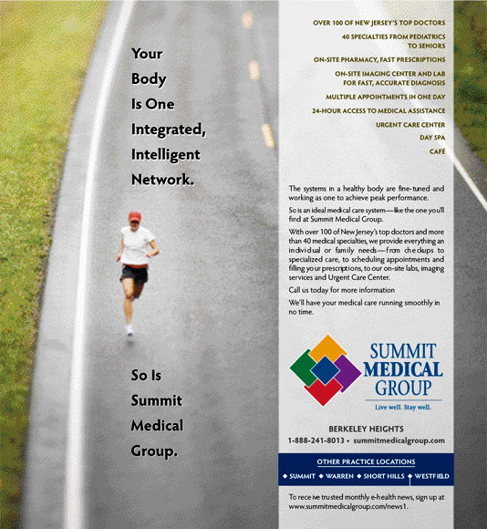 Summit Medical Group Advertisement 1