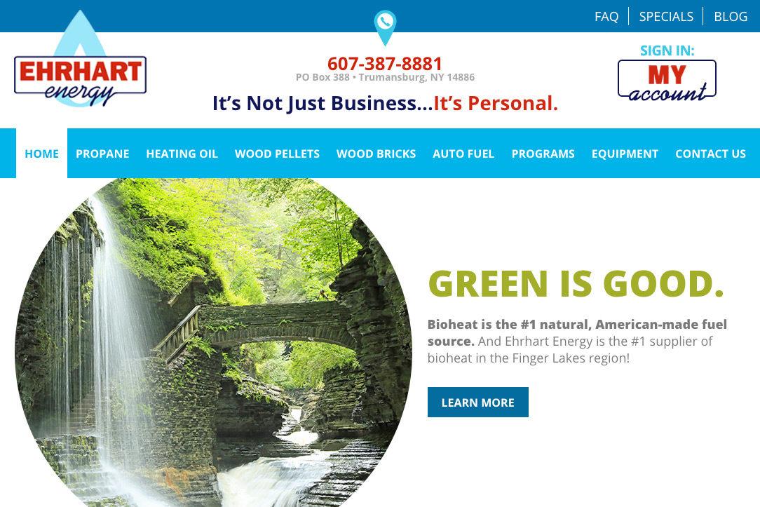 Ehrhart web site