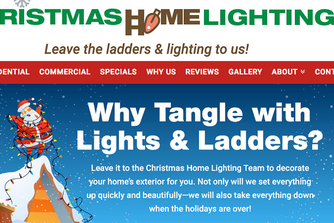 christmas home lighting website