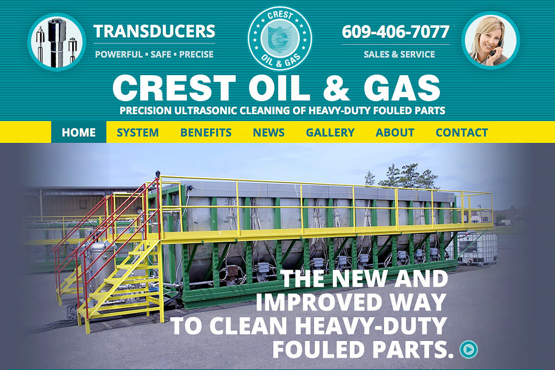 Crest Oil and Gas website