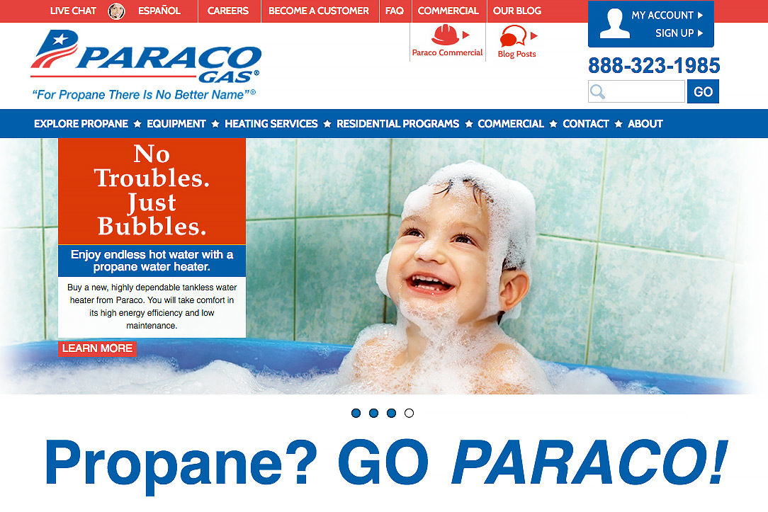 paraco gas website