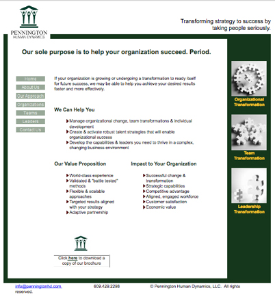 old phd website